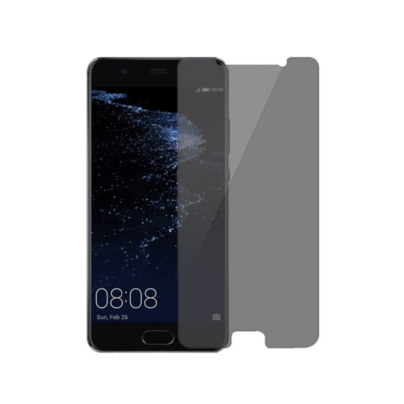 Folie sticla Huawei P10 Plus privacy, Folii Huawei - TemperedGlass.ro