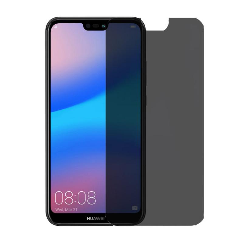Folie sticla Huawei P20 privacy, Folii Huawei - TemperedGlass.ro
