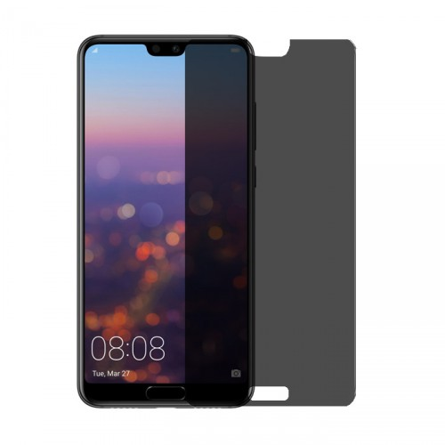 Folie sticla Huawei P20 Pro privacy, Folii Huawei - TemperedGlass.ro