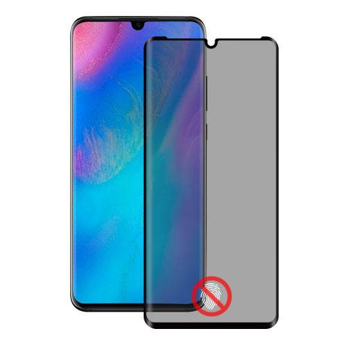 Folie sticla Huawei P30 Pro privacy, Folii Huawei - TemperedGlass.ro