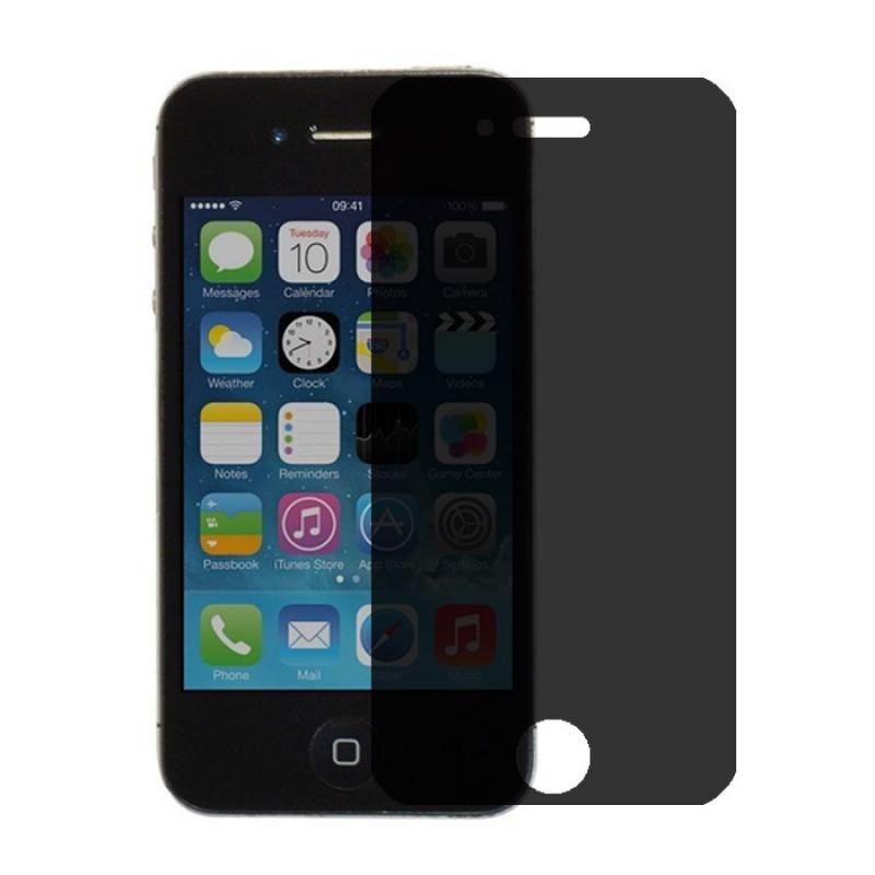 Folie sticla iPhone 4 / 4S privacy, Folii iPhone - TemperedGlass.ro