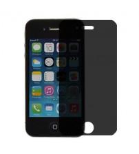 Folie protectie PRIVACY sticla securizata iPhone 4 / 4S [Promo DoubleUP]