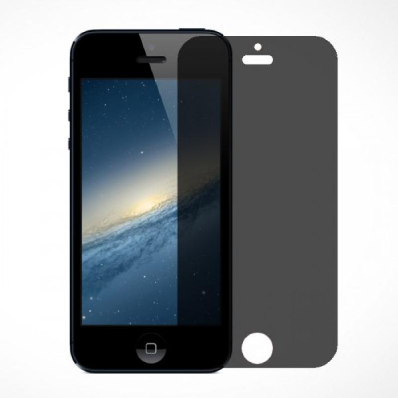 Folie sticla iPhone 5 / 5S / 5C privacy, Folii iPhone - TemperedGlass.ro