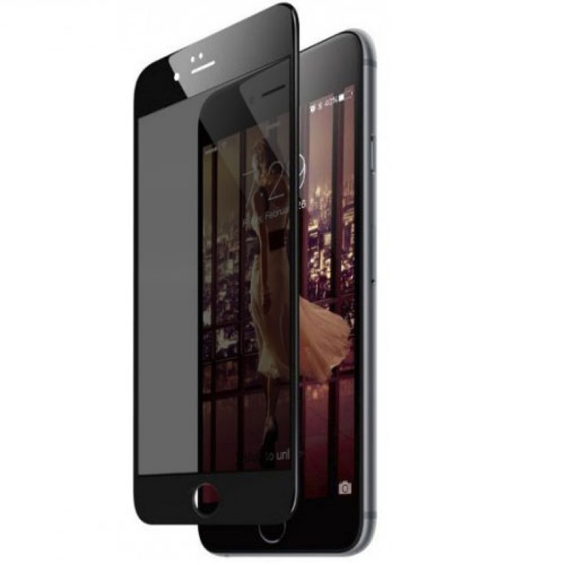 Folie sticla iPhone 6 Plus privacy, Folii iPhone - TemperedGlass.ro