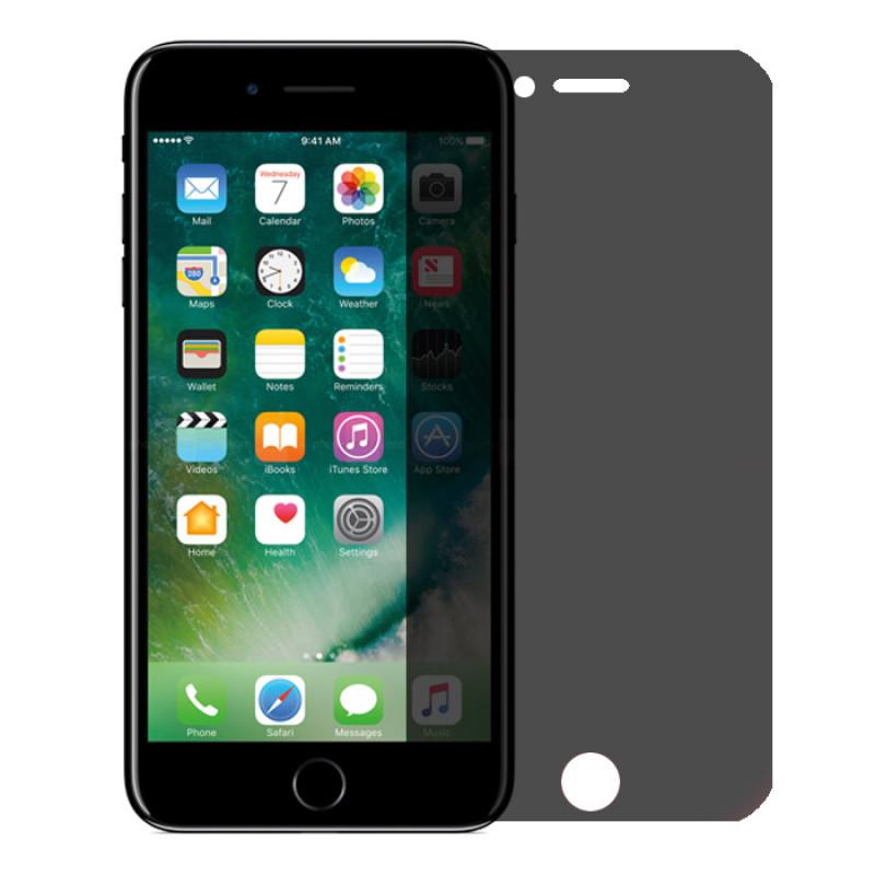 Folie sticla iPhone 6 Plus privacy, Folii iPhone - TemperedGlass.ro