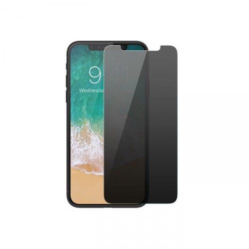 Folie sticla iPhone X privacy, Folii iPhone - TemperedGlass.ro