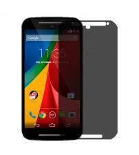 Folie protectie PRIVACY sticla securizata Motorola G2 [Promo DoubleUP]