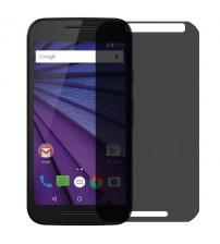 Folie protectie PRIVACY sticla securizata Motorola G3 [Promo DoubleUP]