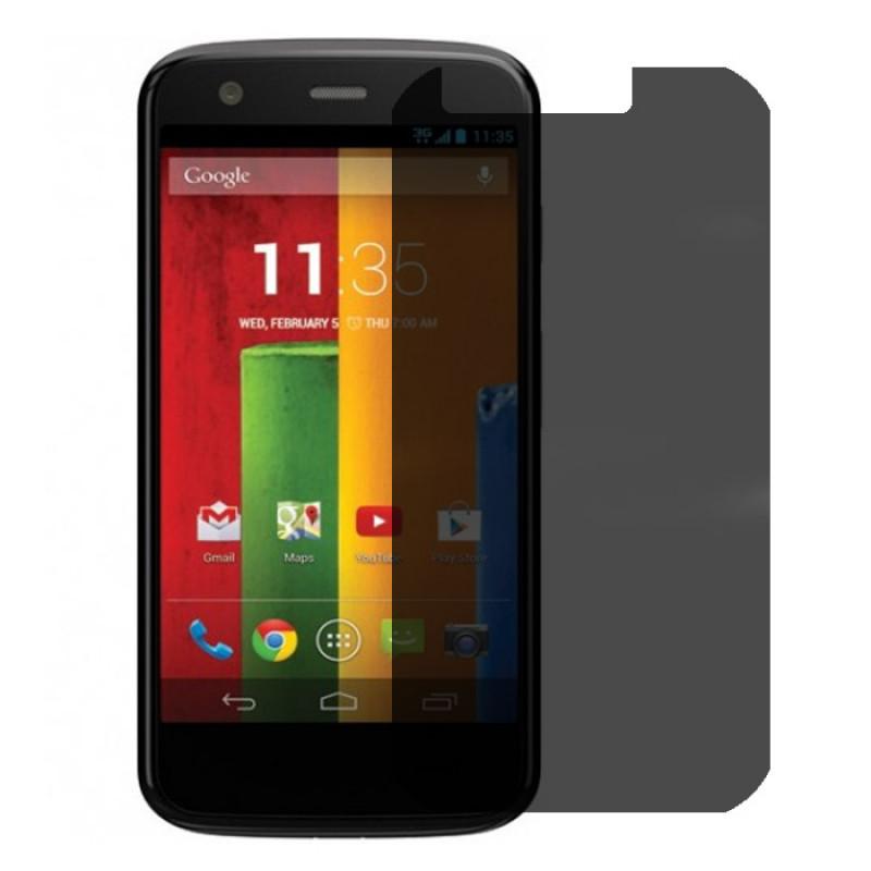 Folie sticla Motorola Moto E privacy, Folii Motorola - TemperedGlass.ro