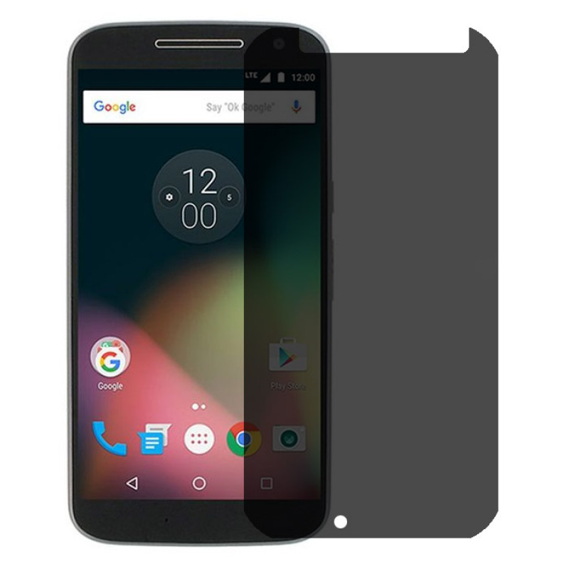 Folie sticla Moto G4 privacy, Folii Motorola - TemperedGlass.ro