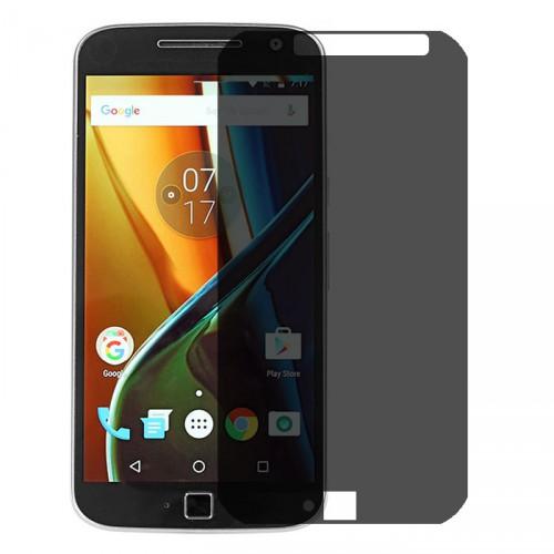 Folie sticla Moto G4 Plus privacy, Folii Motorola - TemperedGlass.ro