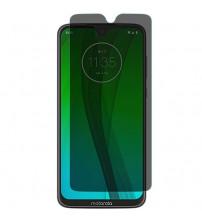 Folie protectie PRIVACY sticla securizata Motorola Moto G7 Plus