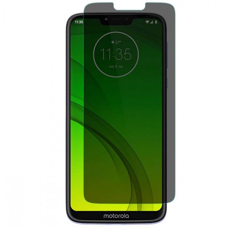 Folie sticla Moto G7 Power privacy, Folii Motorola - TemperedGlass.ro