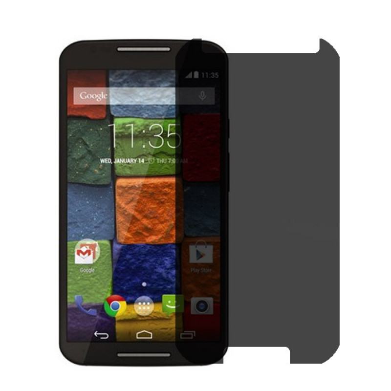 Folie sticla Moto X 2nd. gen privacy, Folii Motorola - TemperedGlass.ro