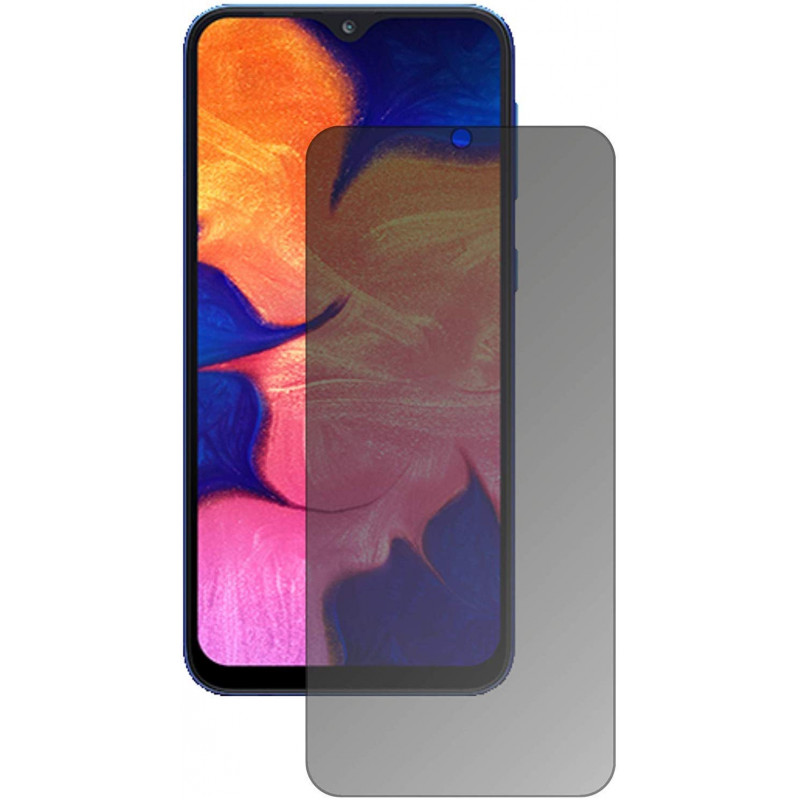 Folie sticla Samsung A10 privacy, Folii Samsung - TemperedGlass.ro
