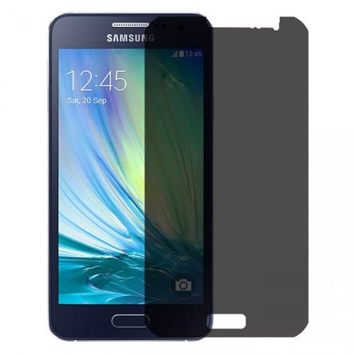 Folie sticla Samsung A3 privacy, Folii Samsung - TemperedGlass.ro