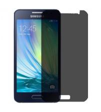 Folie protectie PRIVACY sticla securizata Samsung Galaxy A3 [Promo DoubleUP]