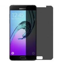 Folie protectie PRIVACY sticla securizata Samsung Galaxy A5 [Promo DoubleUP]