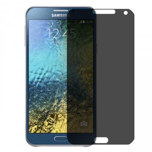 Folie sticla Samsung E7 privacy, Folii Samsung - TemperedGlass.ro