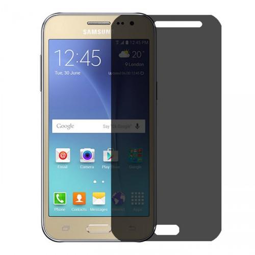 Folie sticla Samsung J2 privacy, Folii Samsung - TemperedGlass.ro