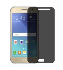 Folie protectie PRIVACY sticla securizata Samsung Galaxy J2 [Promo DoubleUP]