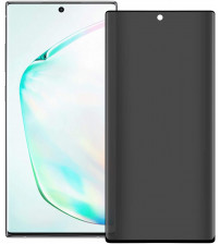 Folie protectie PRIVACY sticla securizata Samsung Galaxy Note 20 Ultra 3D Black