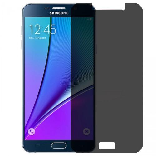 Folie sticla Samsung Note 5 privacy, Folii Samsung - TemperedGlass.ro