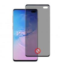 Folie protectie PRIVACY sticla securizata Samsung Galaxy S10 Plus 3D Black