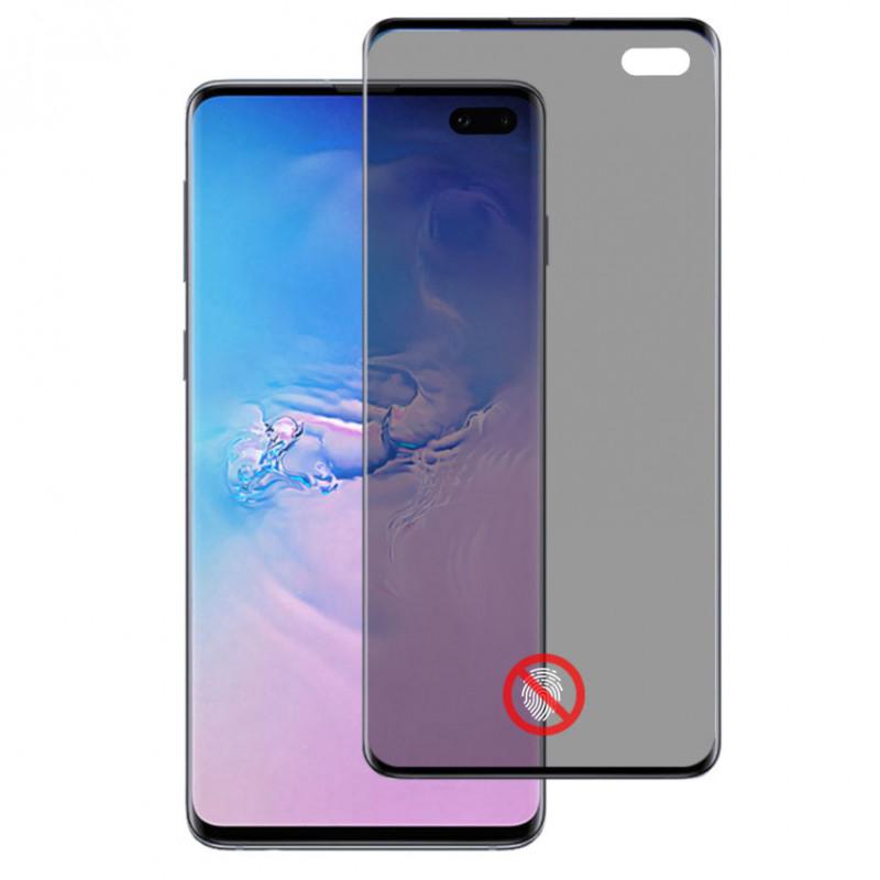 Folie sticla Samsung S10 Plus privacy, Folii Samsung