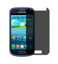 Folie protectie PRIVACY sticla securizata Samsung Galaxy S3 mini