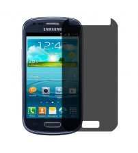 Folie protectie PRIVACY sticla securizata Samsung Galaxy S3 mini [Promo DoubleUP]