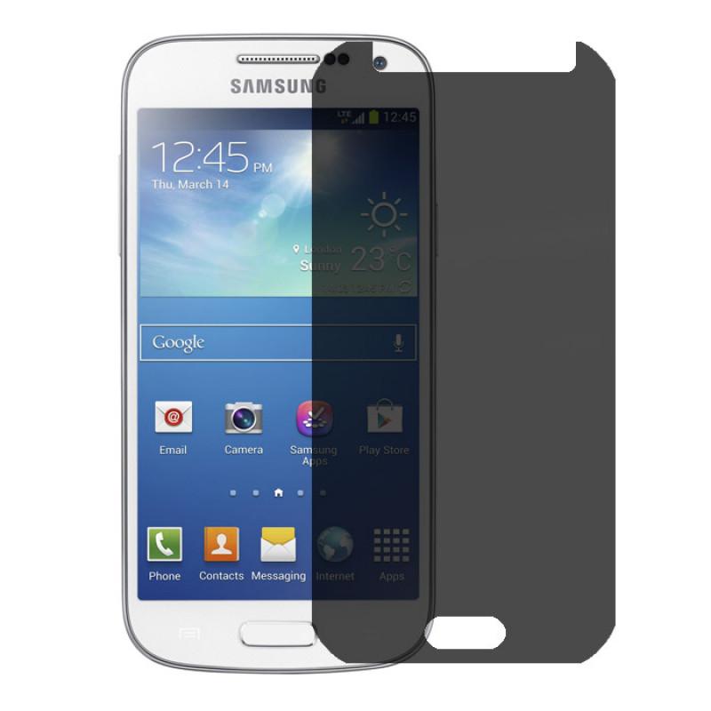 Folie sticla Samsung S4 mini privacy, Folii Samsung - TemperedGlass.ro
