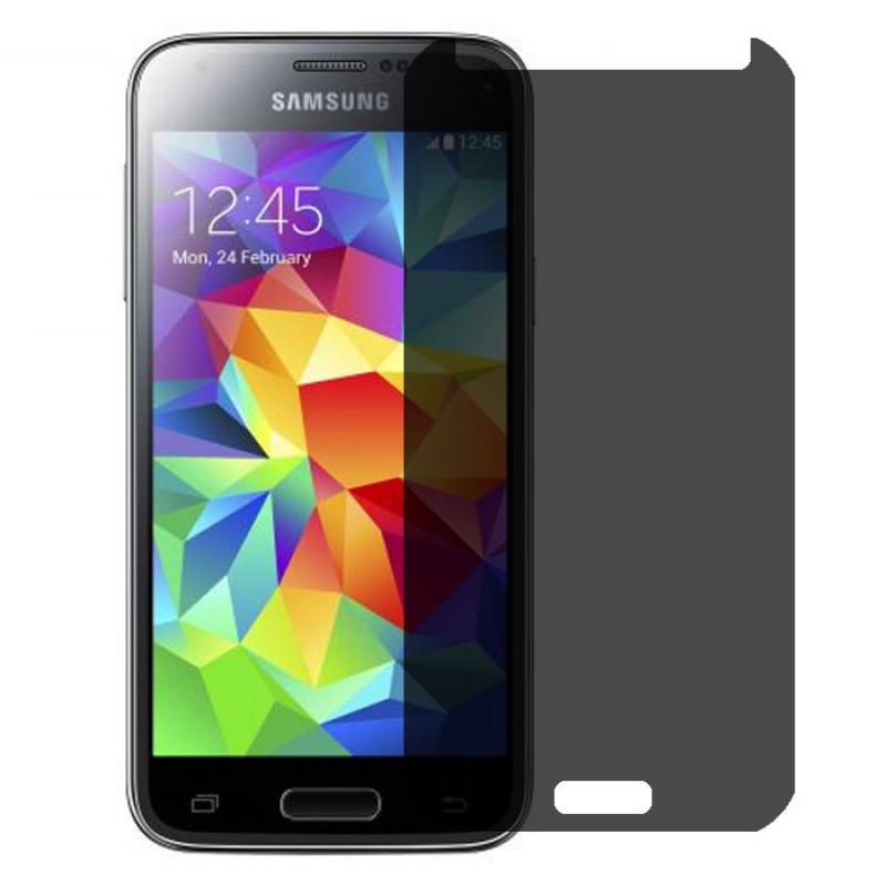 Folie sticla Samsung S5 Mini privacy, Folii Samsung - TemperedGlass.ro