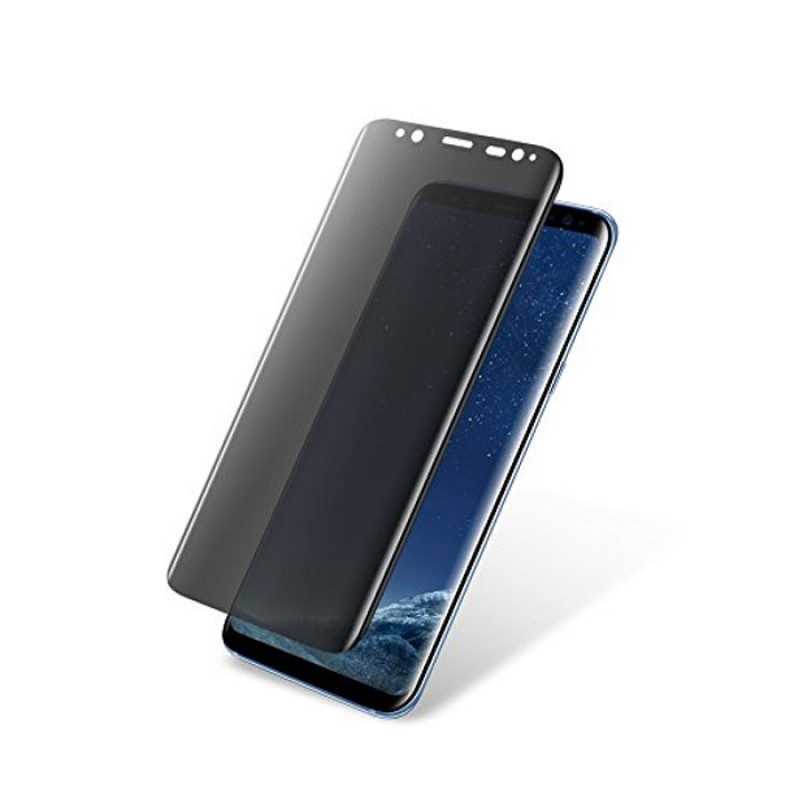 Folie sticla Samsung S8 Plus privacy, Folii Samsung - TemperedGlass.ro