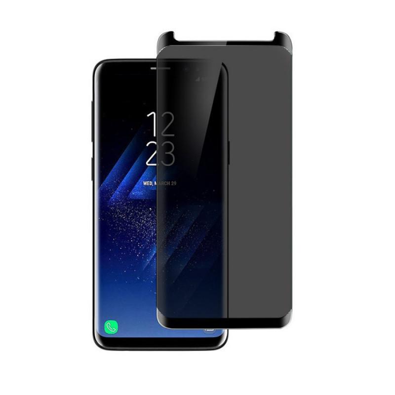 Folie sticla Samsung S9 privacy, Folii Samsung - TemperedGlass.ro