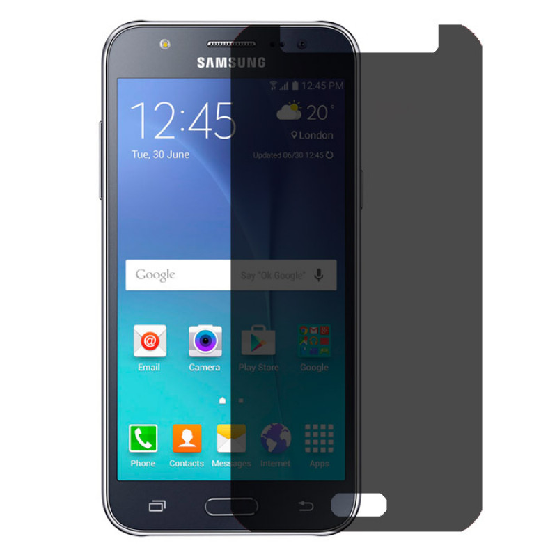 Folie sticla Samsung J7 2016 privacy, Folii Samsung - TemperedGlass.ro