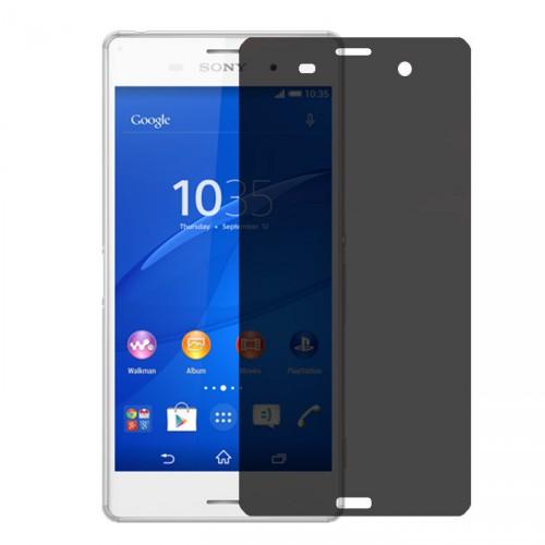 Folie sticla Sony Xperia Z1 privacy, Folii Sony - TemperedGlass.ro