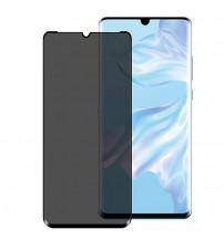 Folie protectie PRIVACY sticla securizata Xiaomi Mi Note 10 Lite 3D Black