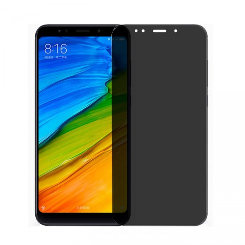 Folie sticla Xiaomi Redmi 5 privacy, Folii Xiaomi - TemperedGlass.ro