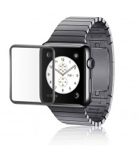 Folie protectie sticla securizata Apple Watch 38mm - Black
