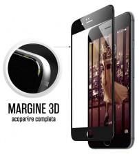 Folie protectie sticla securizata iPhone 7 Plus Full 3D - Black