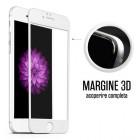 Folie protectie sticla securizata iPhone 6 Plus Full 3D - White
