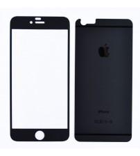 Folie protectie sticla securizata iPhone 6 - Negru mat