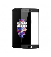 Folie protectie sticla securizata OnePlus 5, Black