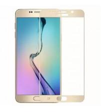 Folie protectie sticla securizata Samsung Galaxy Note 5 3D Gold