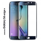 Folie protectie sticla securizata Samsung Galaxy S6 Edge Plus - Blue