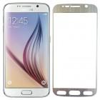 Folie protectie sticla securizata Samsung Galaxy S6 - Silver aluminium