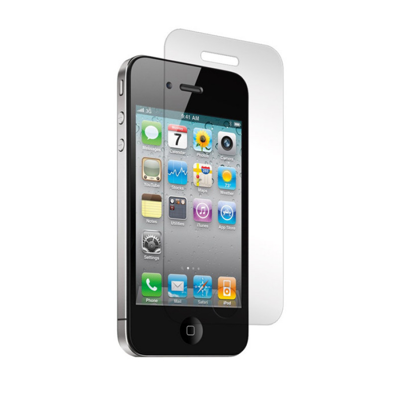 Folie sticla iPhone 5 antireflex, Folii iPhone - TemperedGlass.ro