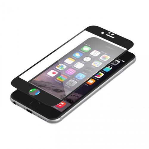 Folie sticla iPhone 6 antireflex Black - TemperedGlass.ro