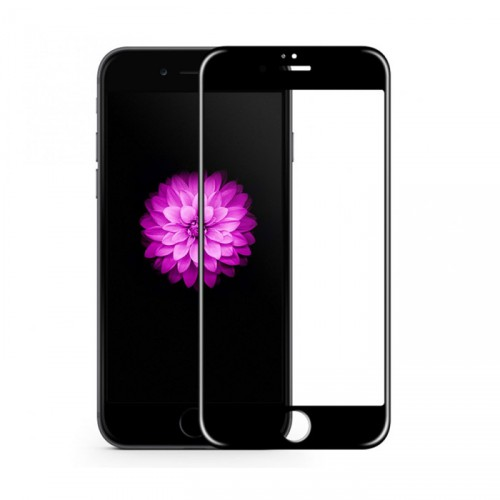 Folie sticla iPhone 6 antireflex Black 3D - TemperedGlass.ro